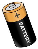 Batteria sirena allarme scarica