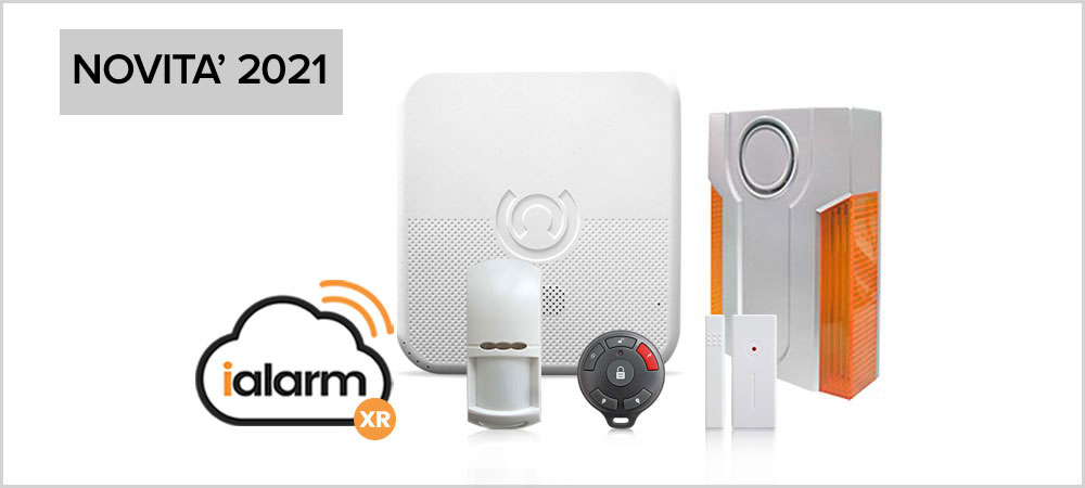 Kit iAlarm 5 Internet Gsm Sms
